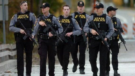 Cảnh sát Mỹ. Nguồn: AP