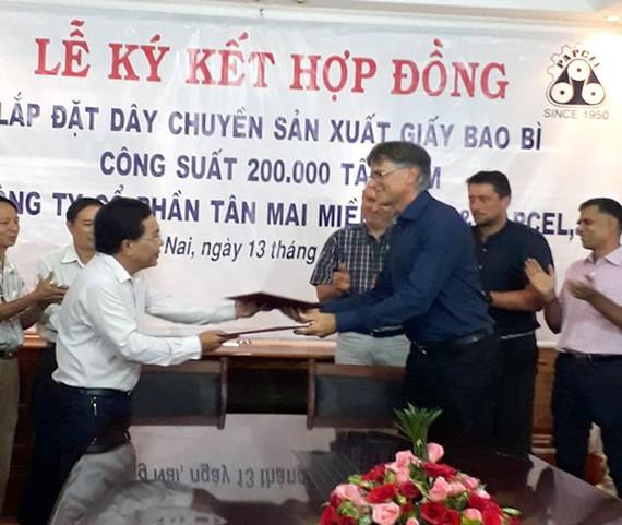 2.299 tỷ đồng xây mới Nhà máy giấy Tân Mai Miền Đông