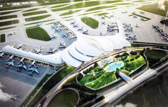 Bộ GTVT chốt thiết kế hoa sen cho sân bay Long Thành