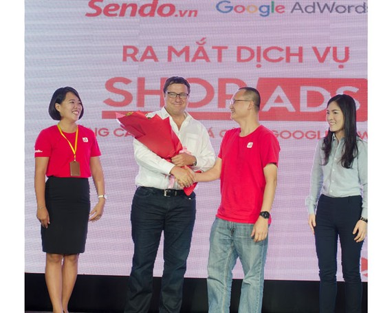 Sendo phối hợp Google hỗ trợ kinh doanh trực tuyến