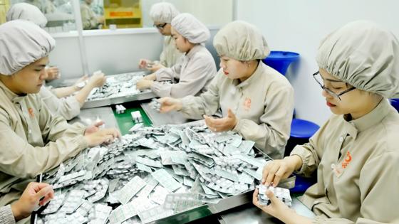 Hóa dược - cao su là 1 trong 4 ngành công nghiệp TPHCM được ưu tiên phát triển. Ảnh: CAO THĂNG