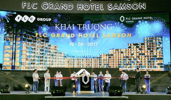 FLC khai trương FLC Grand Hotel Samson