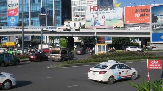 Giao lộ Trường Sơn - Hồng Hà - Ảnh: N.ẨN