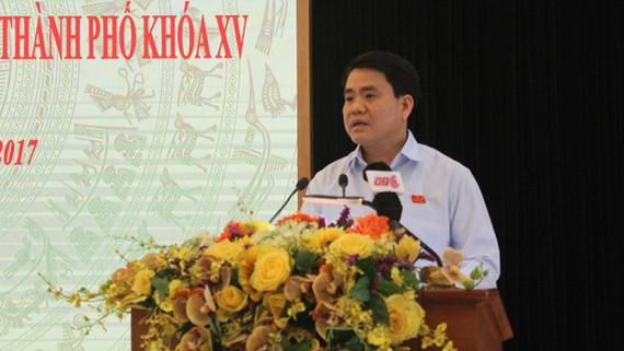 Ông Nguyễn Đức Chung cho biết Hà Nội sẽ là ''bà đỡ'' cho các doanh nghiệp startup