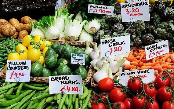 Giá lương thực thế giới giảm trong tháng 8