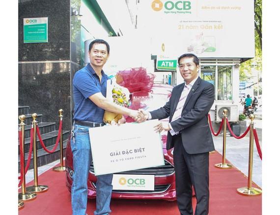OCB trao thưởng chương trình 21 năm gắn kết