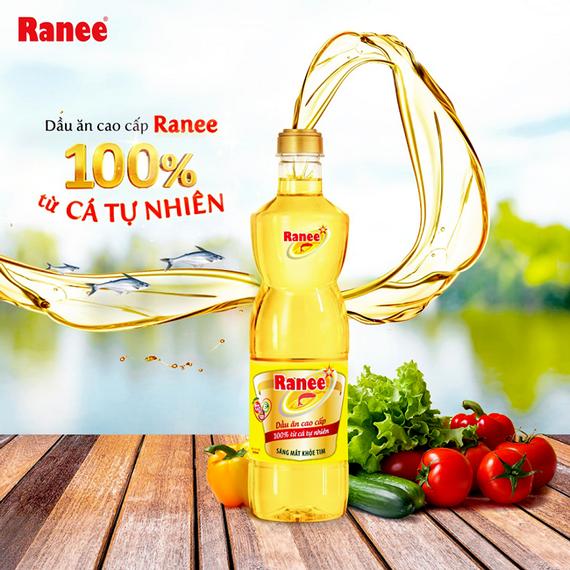 Dầu ăn cao cấp Ranee chiết xuất từ 100% tinh dầu cá