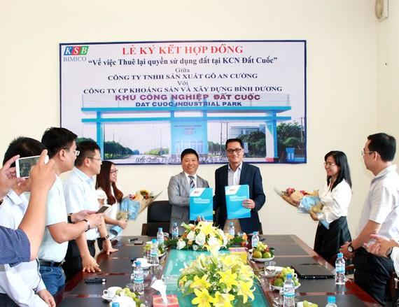 KSB ký kết hợp tác với Tập đoàn gỗ An Cường.