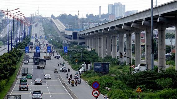 Dự án tuyến metro tại TP.HCM gặp khó vì tốc độ giải ngân chậm