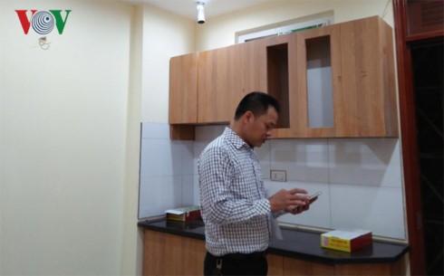 Một căn hộ thuộc nhà  số 119 ngõ 12 Phan Đình Giót.