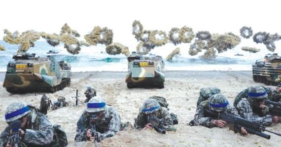 Các cuộc tập trận Hàn - Mỹ luôn bị Triều Tiên phản đối