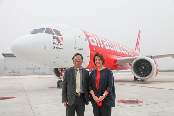 Airbus bàn giao máy bay A320neo đầu tiên được lắp ráp tại Trung Quốc