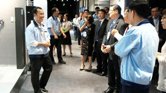 Hơn 100 doanh nghiệp TPHCM đang tìm hiểu nhu cầu cung ứng của Tập đoàn Samsung