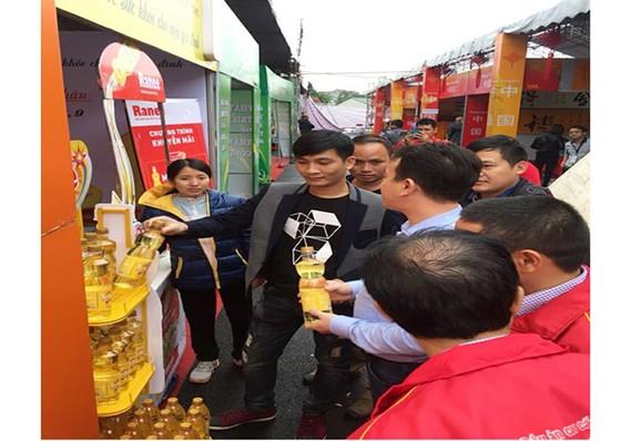 Sản phẩm Dầu ăn cao cấp Ranee thu hút sự quan tâm của nhiều doanh nghiệp Trung Quốc.