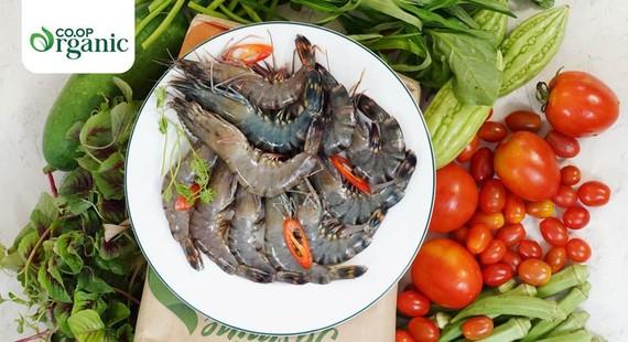 Sản phẩm Co.op Organic đạt chuẩn USDA của Mỹ và EU của Châu Âu được xem là niềm tự hào của nông nghiệp Việt Nam