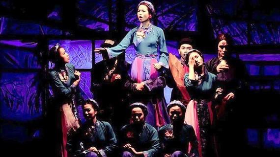 Vở nhạc kịch thuần Việt Tấm Cám của nhóm kịch trẻ Buffalo