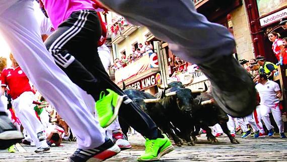 Cuồng nhiệt lễ hội bò tót San Fermin