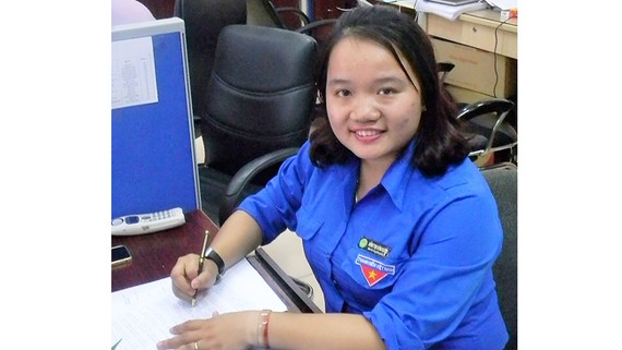 Đảng viên trẻ Đồng Thị Hoài Phương
