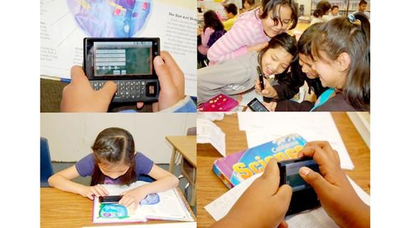 Học sinh các nước tiếp thu dễ dàng những kiến thức khoa học bằng cách sử dụng nền tảng công nghệ SMILE trên thiết bị di động