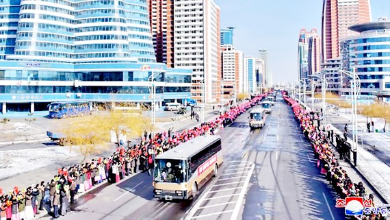 Thủ đô Bình Nhưỡng của Triều Tiên