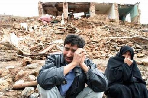 Một vụ động đất ở Iran. Ảnh: Trend.