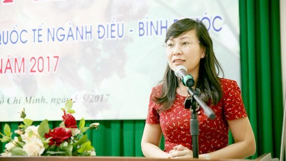 Phó Chủ tịch UBND tỉnh Bình Phước Huỳnh Thị Hằng