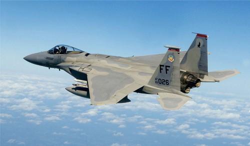 Máy bay chiến đấu F-15. Ảnh: Wikipedia