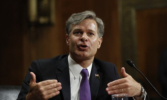 Ông Christopher Wray, tân Giám đốc Cục Điều tra Liên bang (FBI). Ảnh: REUTERS