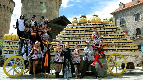 Halloween nhuốm màu cổ tích ở Sun World Ba Na Hills
