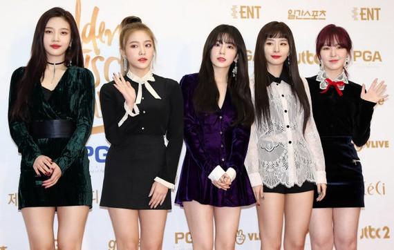 Nhóm nhạc nữ nổi tiếng K-pop Red Velvet sẽ tham gia đoàn nghệ thuật Hàn Quốc trình diễn tại Bình Nhưỡng, CHDCND Triều Tiên. Ảnh: YONHAP