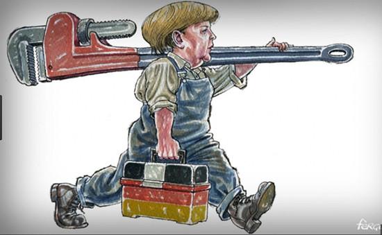 Chờ cải cách mới của Thủ tướng Merkel