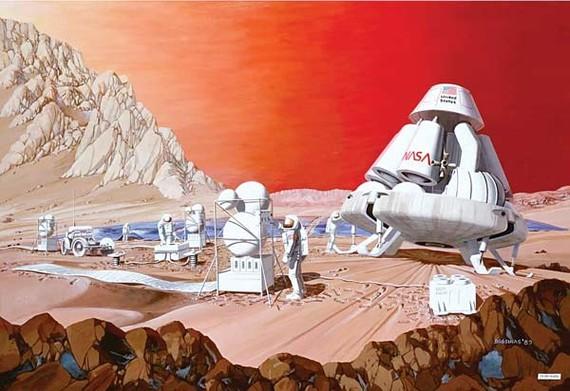 Sứ mệnh NASA sẽ đưa người lên sao Hỏa vào năm 2033                                Ảnh: NASA