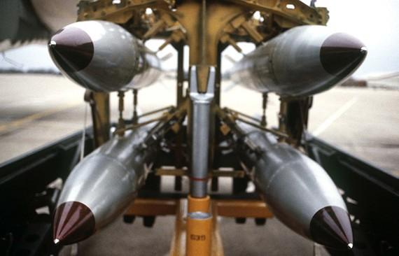 Loại bom hạt nhân rơi tự do B-61 của Mỹ. Ảnh: TASS/ TTXVN