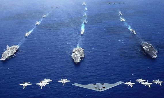 Triều Tiên cho rằng cuộc tập trận của Mỹ - Nhật Bản - Hàn Quốc tạo ra mối đe dọa  hòa bình và an ninh quốc tế