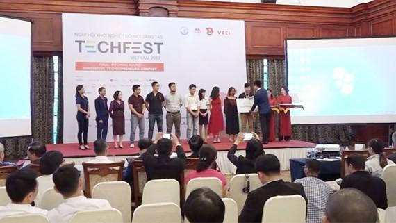 Techfest 2017 wraps up in Hanoi on November 15