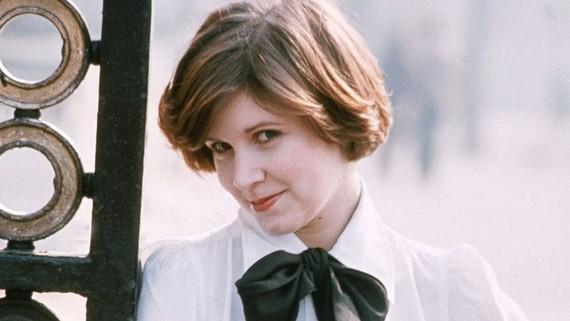 Nữ diễn viên Carrie Fisher khi còn trẻ