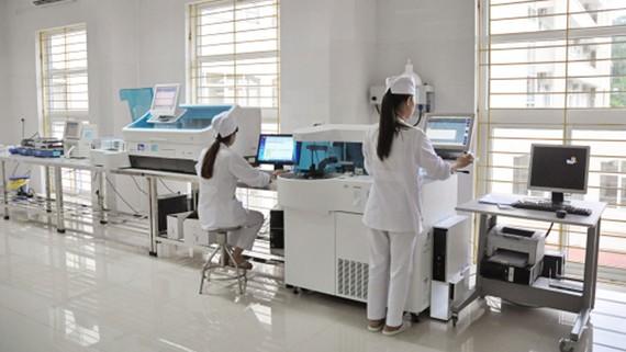 Một bệnh viện ngoài công lập được công nhận ISO quốc tế về xét nghiệm