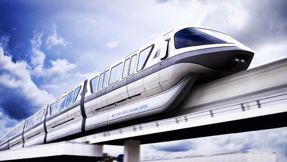 Monorail 1 ray chiếm ít diện tích và nhiều nước đã áp dụng thành công  trong việc phục vụ đi lại của người dân đô thị