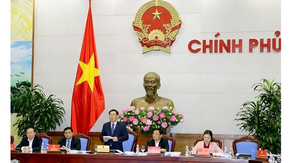 Phó Thủ tướng Vương Đình Huệ phát biểu kết luận hội nghị