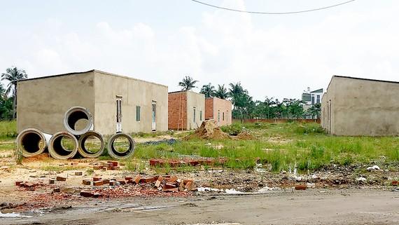 Một khu dân cư hình thành sau tách thửa theo Quyết định 33