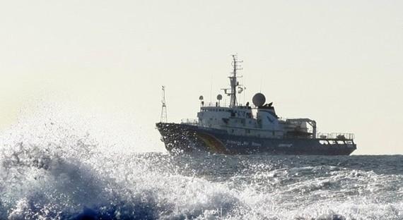 Tàu của Trung Quốc. (Nguồn: Reuters)