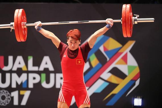鄭文榮力士總舉307公斤奪金同時刷新紀錄。(圖源:互聯網)