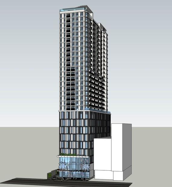 市人委會最近審批調整在第一郡濱藝坊施策街4號和蔡文隴街3號項目的建築規劃職能和指標。(圖源:Vietcomreal)