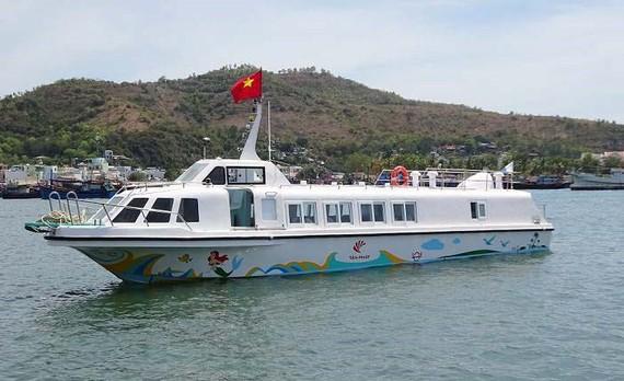 往崑崙島高速客船預計明年運行。(圖源:國雄)