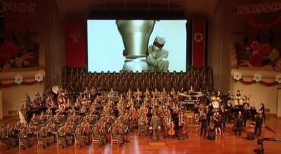 朝鮮公開疑似氫彈頭組裝視頻。(圖源:韓聯社)
