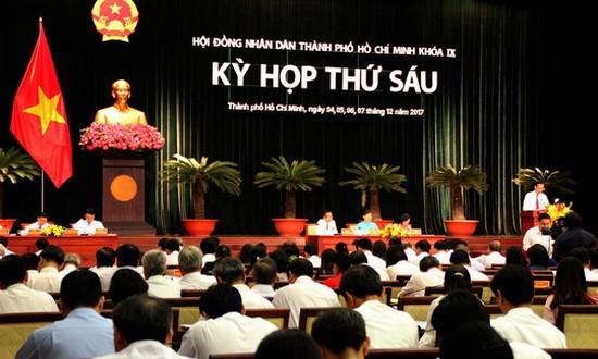 第九屆市人民議會第六次會議現場一瞥。(圖源:胡文)