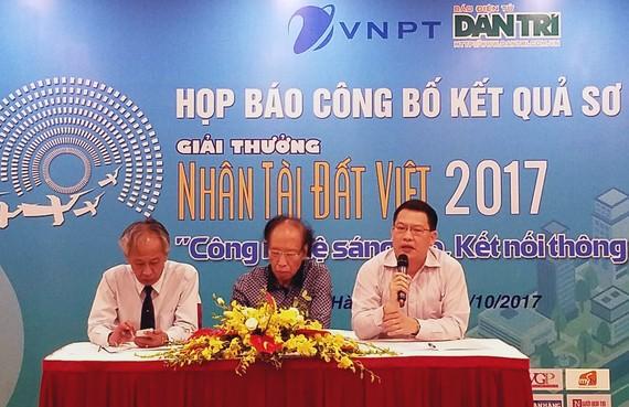 17 sản phẩm CNTT vào chung khảo Nhân tài Đất Việt 2017