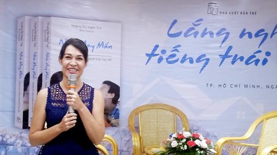 Tác giả Aline Rebeaud - Hoàng Nữ Ngọc Tim