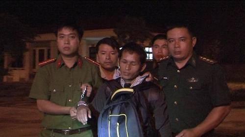 Đối tượng Xồng Dua Dóng bị bắt giữ