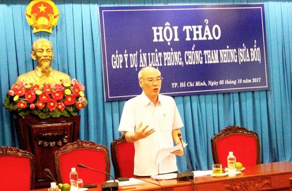 Đại biểu Phan Nguyễn Như Khuê, Phó Đoàn chuyên trách Đoàn Đại biểu Quốc hội TPHCM khẳng định việc sửa đổi Luật PCTN lần này là thể hiện quyết tâm của Đảng và Nhà nước trong công tác phòng, chống tham nhũng